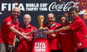 La Copa Mundial de la FIFA comienza su gira en Brasil