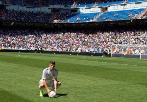 Bale ya siente su casa