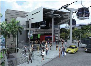 Bogotá construirá 2 cables aéreos de transporte