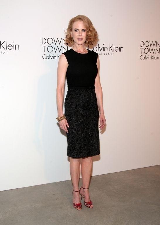 Nicole Kidman intentaba lucir anoche como si nada le hubiese pasado.
