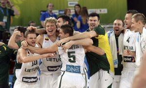 Lituania es el primer finalista del Eurobasquet (Video)