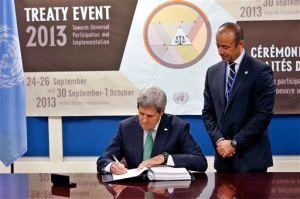 EEUU firma tratado sobre venta internacional de armas