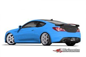 Hyundai presenta Genesis Coupé con ayuda de Bismoto