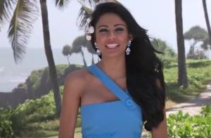 Karen Soto de Venezuela preparada para ganar Miss Mundo