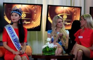 Miles ven final  de Miss Mundo 2013 en Indonesia
