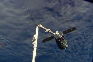 Carguero Cygnus se acopla a Estación Espacial EEI (Fotos)