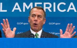 John Boehner culpa al Senado por crisis política