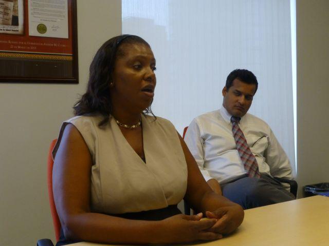 Letitia James gana Defensoría del Pueblo en NYC