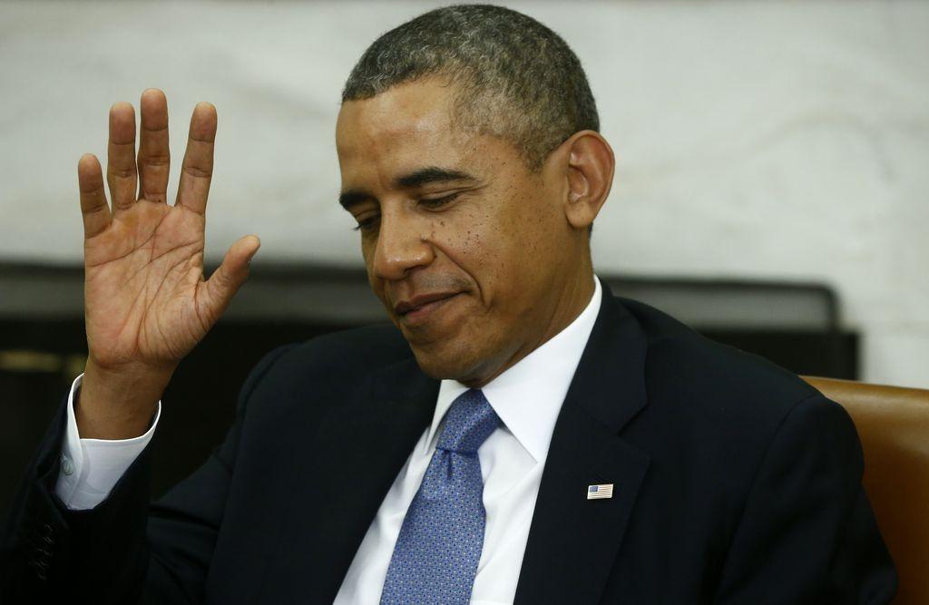 Cierre de gobierno no impide a Obama viajar a Asia