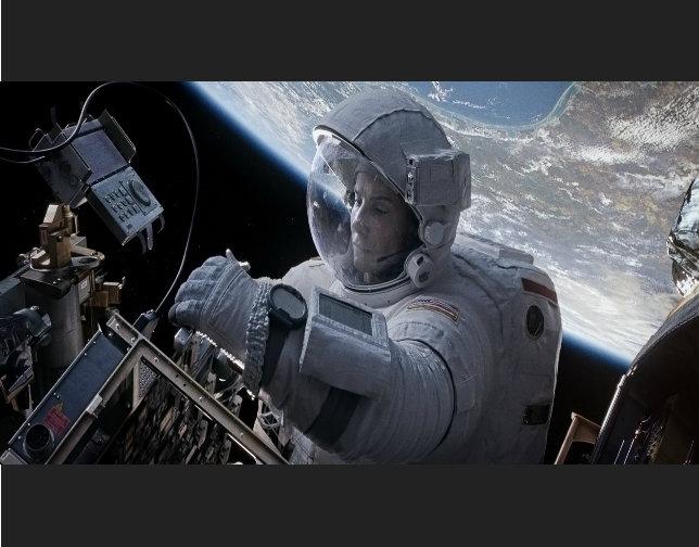 'Gravity' es una lección magistral de cine