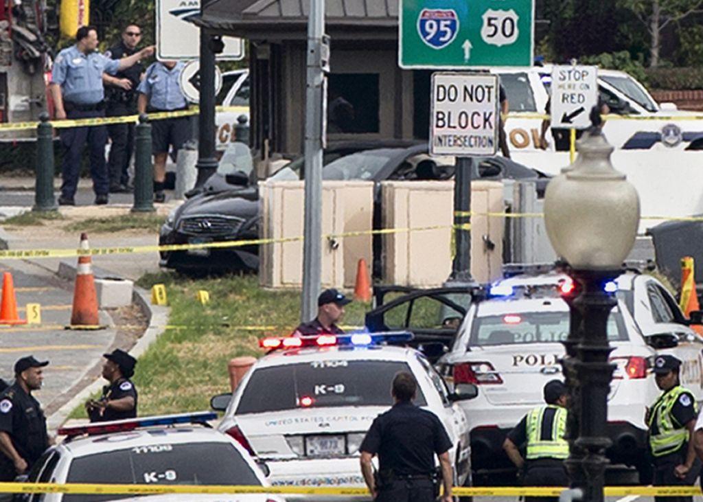 Descartan terrorismo en tiroteo en Washington