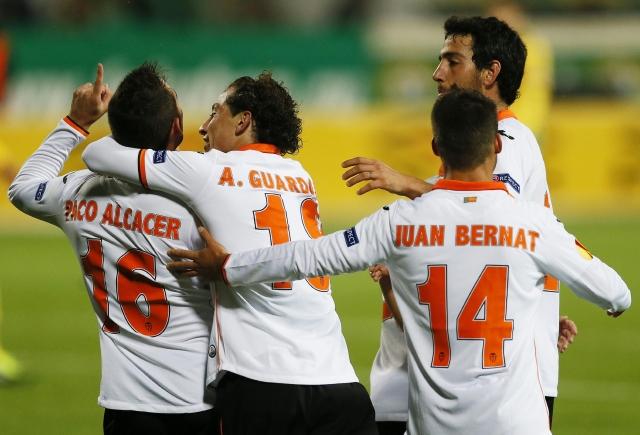 Valencia triunfa en Rusia