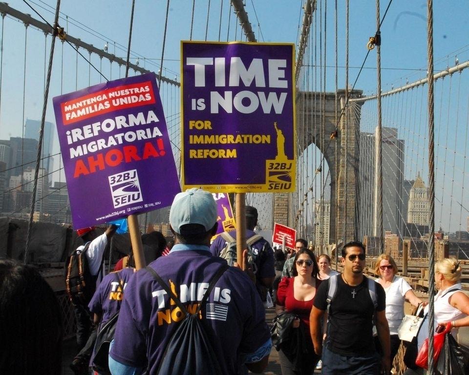 Inmigrantes en EEUU piden reforma migratoria ahora