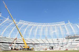FIFA elogia avances en las obras del estadio de Porto Alegre (Fotos)