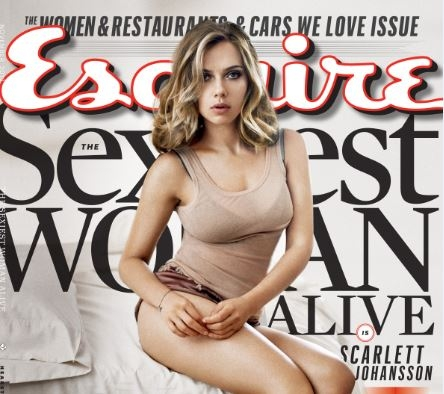 Scarlett Johansson repite como la más sexy del mundo