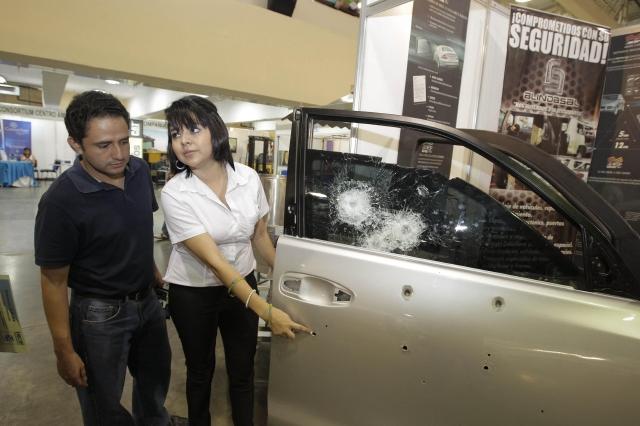 Promueven carros blindados por la inseguridad
