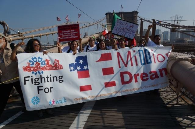 Organizaciones de NY apoyan rally pro reforma migratoria
