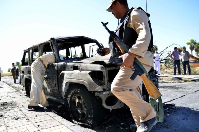 Ola de ataques estremece Egipto