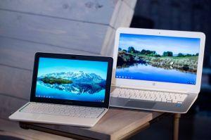 Laptop HP tiene sistema  de Google