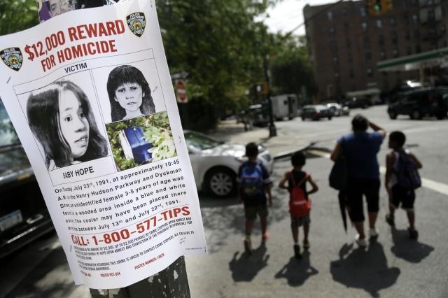 "Mexicana la madre de la asesinada ""Baby Hope"""