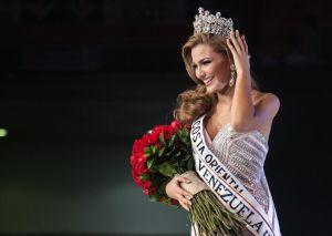 Candidata más joven gana la corona de Miss Venezuela