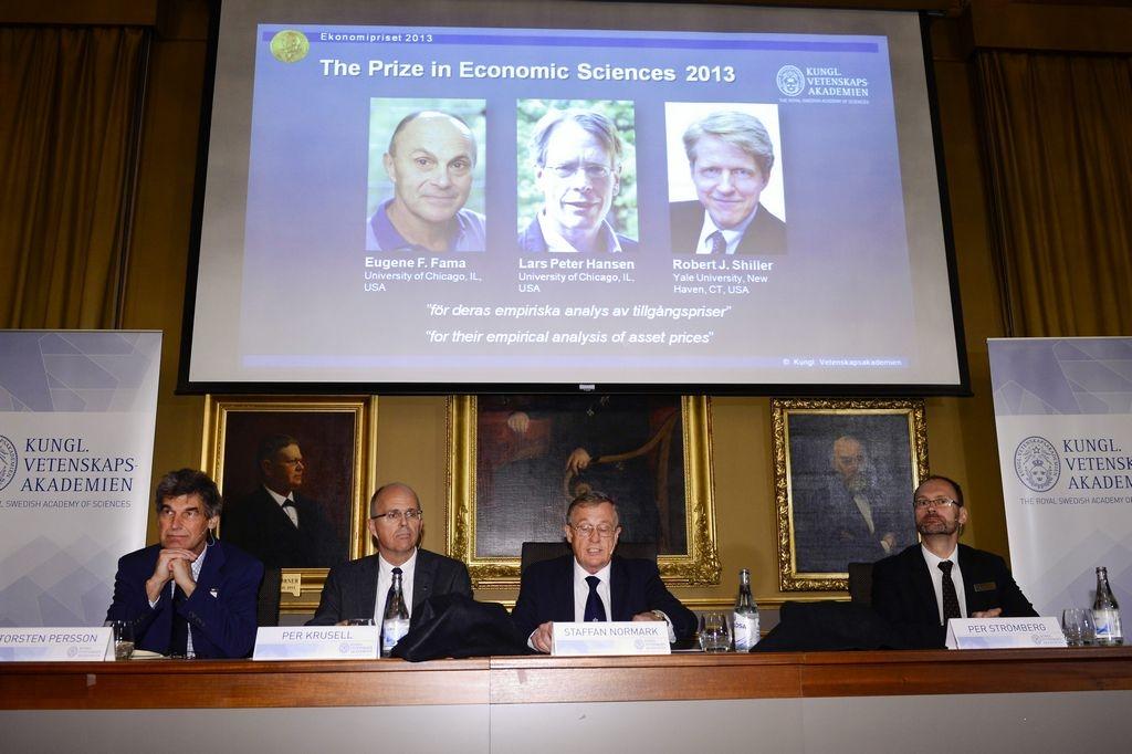 Nobel de Economía para tres estadounidenses