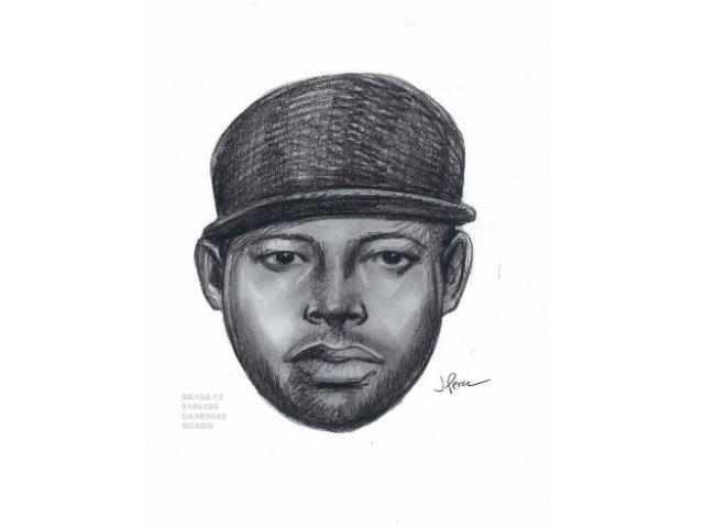 Boceto del sospechoso de agredir sexualmente a una menor en Queens.