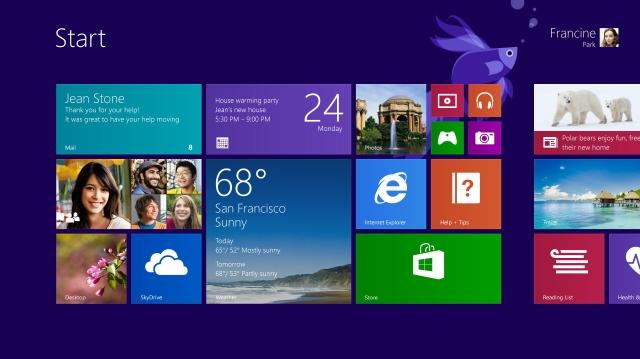 Microsoft lanza actualización de Windows 8