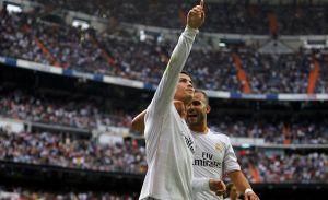 Real Madrid supera al Málaga en el Bernabéu