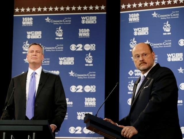 Duros ataques en debate por alcaldía de NYC