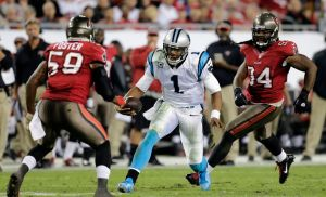 Newton y los Panthers aplastan y sepultan a Buccaneers