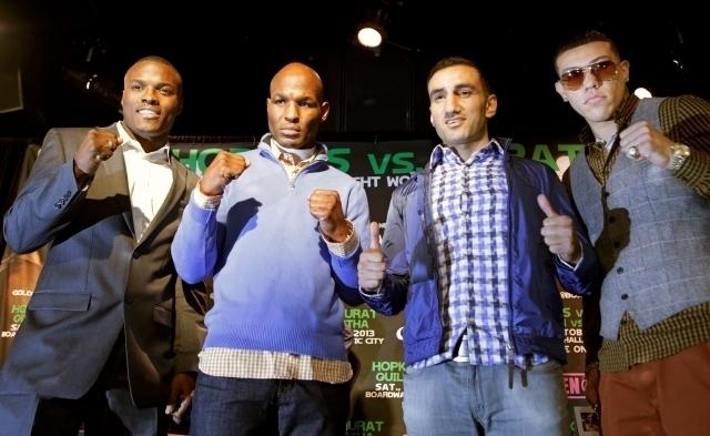 Boxeo de alto calibre este sábado en Atlantic City