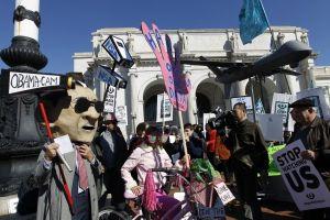 Washington se llena de manifestantes en contra de NSA