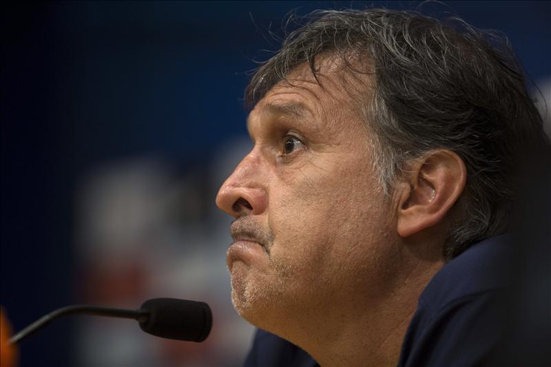 """El entrenador argentino del F. C. Barcelona, Gerardo """"Tata"""" Martino. EFE"""