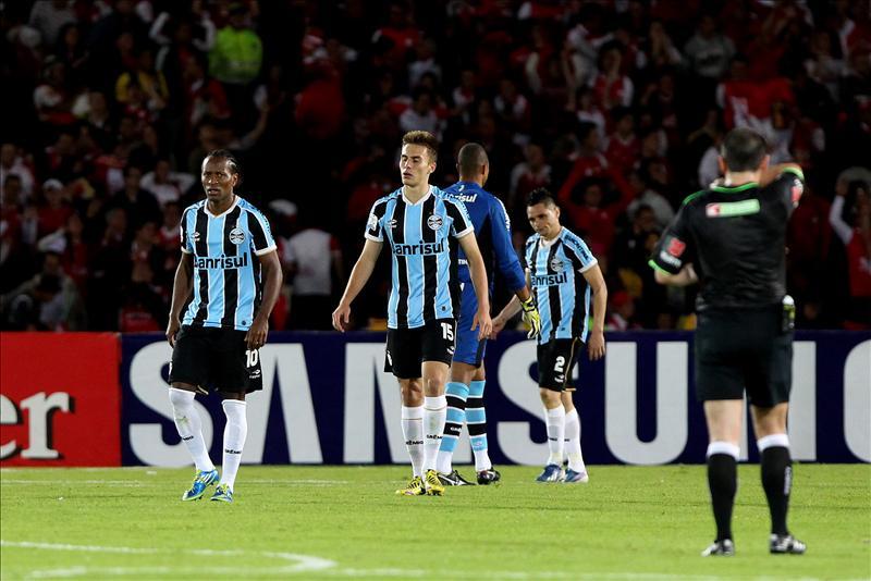 Jugadores de Gremio de Brasil. EFE/Archivo