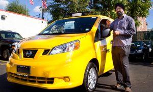 Llega a Manhattan el primer taxi Nissan NV200T (Video)