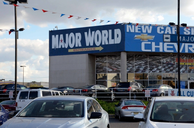 Concesionario de Autos:  Major World