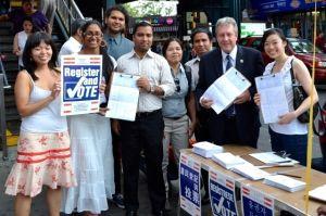 Simulacro electoral para residentes legales en NYC