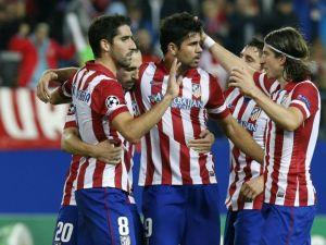 Atleti golea y liga cuatro triunfos en Champions (Fotos)