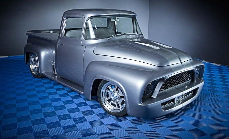 Ford develó una pick-up de los 50 en el SEMA Show