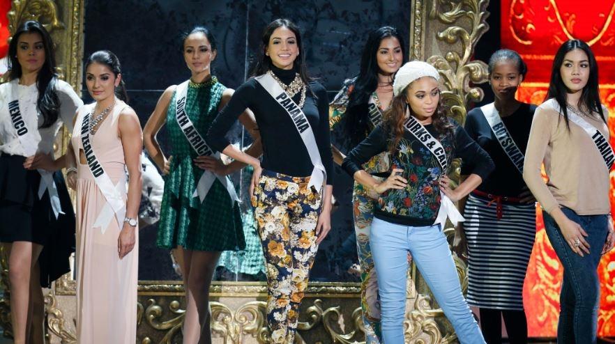 Bellezas se preparan para la gran gala de Miss Universo