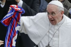 """El Papa """"se acordó"""" del triunfo de San Lorenzo sobre Boca (Video)"""