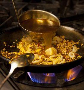 Receta para una auténtica paella española