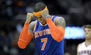 Carmelo Anthony anota 25 puntos en victoria de Knicks