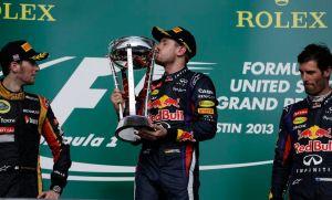Sebastian Vettel gana en Austin su octavo GP seguido