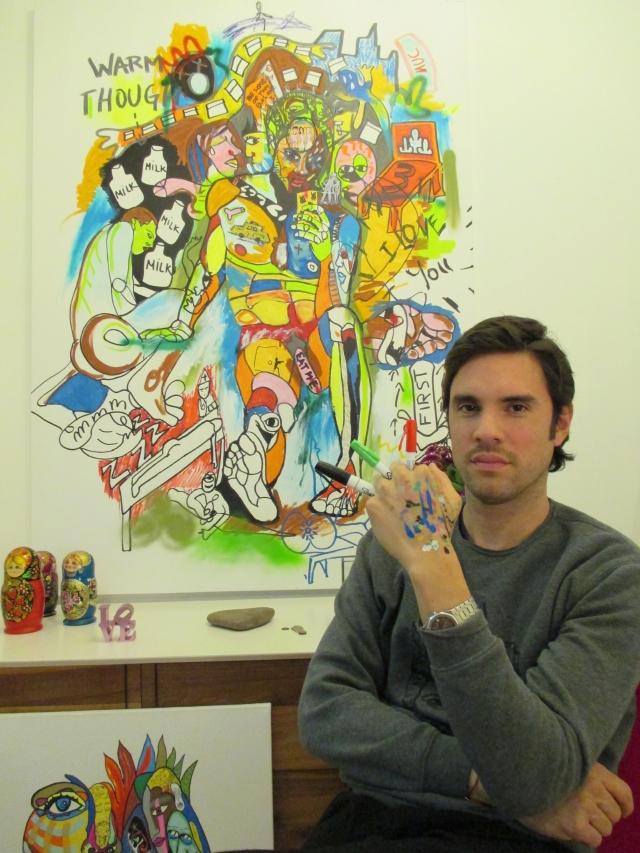 Cacho Falcón: un artista quita penas