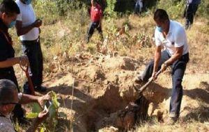 Fiscalía de Acapulco investiga fosas clandestinas