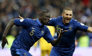 Francia golea a Ucrania en Saint Denis y se clasifica