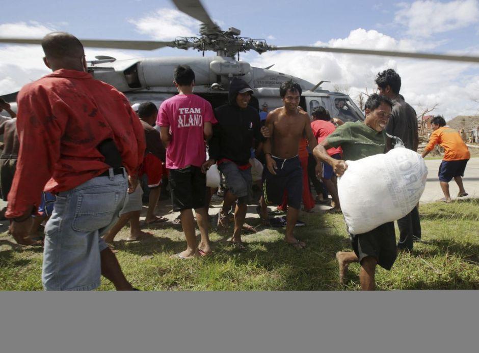 Tifón dejó 13 millones de afectados en Filipinas