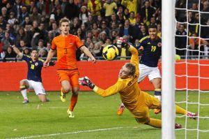 Colombia y Holanda en tablas
